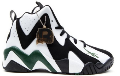 Reebok Kamikaze II Black Green OG Black/White-Racing Green-Red V44404