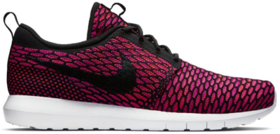 Nike Roshe Run Flyknit Fireberry Black/White-Fireberry-Total Orange 677243-004
