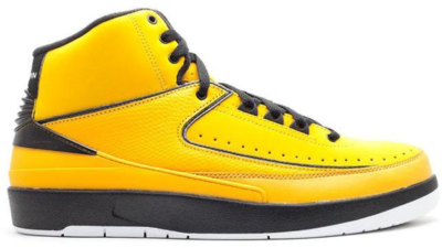 Jordan 2 Retro QF Candy Pack Yellow Del Sol/White-Black 395709-701
