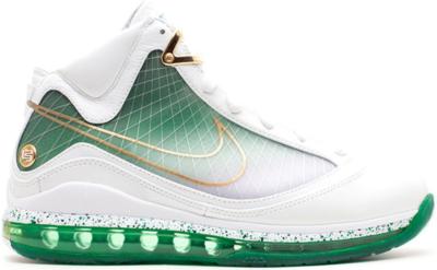 Nike LeBron 7 MTAG Washington DC White/White-Metallic Gold-Gorge Green 375664-171