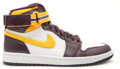 Jordan 1 Retro High Strap Grand Purple Varsity Maize Grand Purple/Varsity Maize-White 342132-571