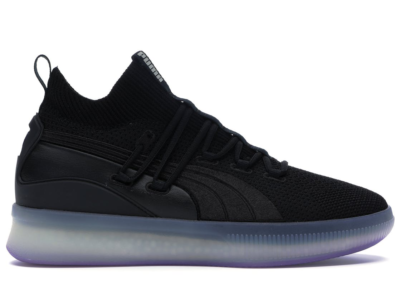 Puma Clyde Court Disrupt Black Electric Purple Puma Black/Electric Purple 191715-06