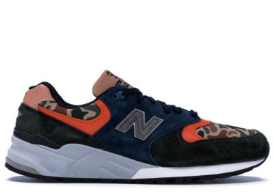 New Balance 999 Duck Camo Green/Blue-Orange M999NI