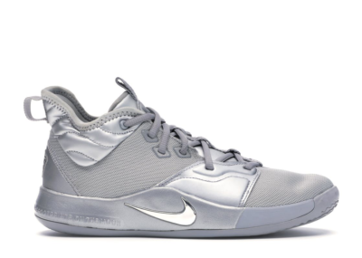 Nike PG 3 NASA 50th (GS) Reflect Silver/Reflect Silver CI8973-001