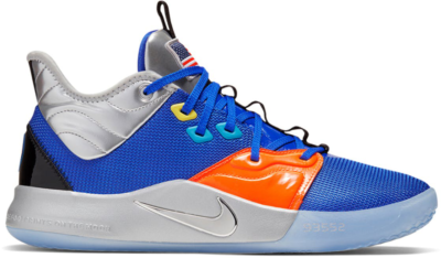 Nike PG 3 NASA Apollo 14 (GS) Royal/Silver-Orange-Red CI8973-400