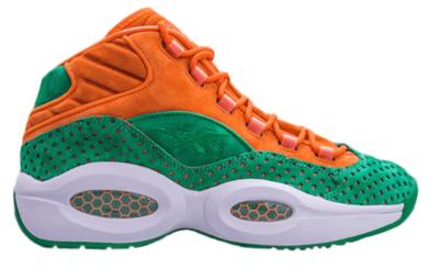 Reebok Question Mid Sneakersnstuff 15 Stars Orange/Green/White M44914
