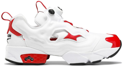 Reebok Instapump Fury White Excellent Red White/Excellent Red-Black FV0418