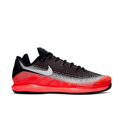 NikeCourt Air Zoom Vapor TC Knit Hot Lava London (2019) Black/White-Dark Grey-Hot Lava-Wolf Grey AR0496-002