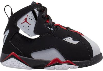 Jordan True Flight Black Varsity Red Wolf Grey (TD) Black/Varsity Red-Wolf Grey 343797-060