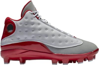 Jordan 13 Retro MCS Cleat Grey Toe White/Gym Red-Gym Red-Wolf Grey AJ8016-126