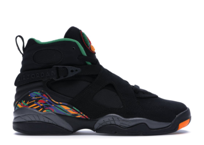 Jordan 8 Retro Tinker Air Raid (GS) Black/Light Concord-Aloe Verde 305368-004