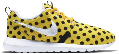 Nike Roshe Run Polka Dot Pack Yellow Varsity Maize/White-Black 810857-700