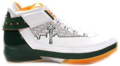 Jordan 22 OG Ray Allen PE White/Metallic Silver-Deep Forest-Pro Gold 317141-101