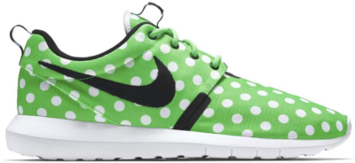 Nike Roshe Run Polka Dot Pack Green Green Strike/Black-White 810857-300