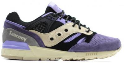 "Saucony Grid SD Sneaker Freaker ""Kushwacker"" Black/Purple-Grey S70191-1"