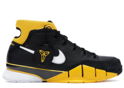 Nike Kobe 1 Protro Black Maize Black/White-Varsity Maize AQ2728-003
