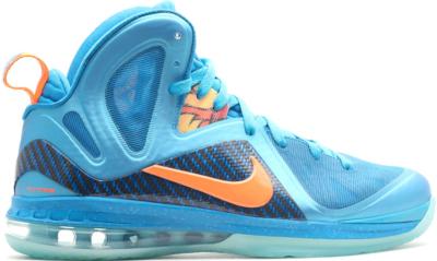 Nike LeBron 9 Elite China Sample Neptune Blue/Total Orange-Current Blue-CP PE