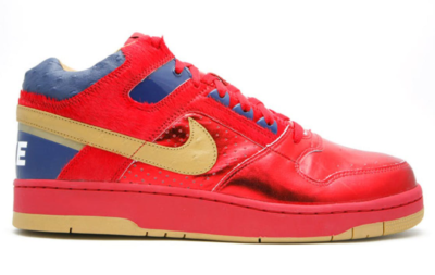 Nike Delta Force Mid Red Gold Varsity Red/Metallic Gold-Binary Blue 318430-671