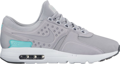 Nike Air Max Zero Pure Platinum Grey Pure Platinum/Wolf Grey-Aurora Green 881982-002