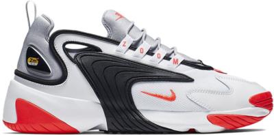 Nike Zoom 2K White White Wolf Grey Black Infrared 23 AO0269-105
