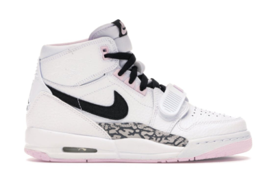 Jordan Legacy 312 White Black Pink Foam (GS) White/Black-Pink Foam AT4040-106