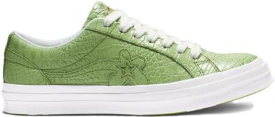 Converse One Star Ox Golf Le Fleur Faux Skin Green 165525C