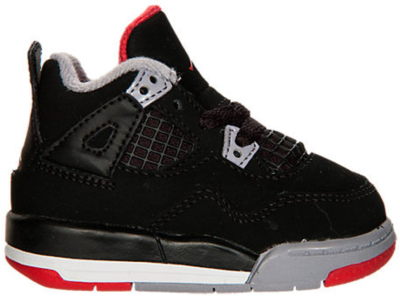 Jordan 4 Retro Black Cement 2012 (TD) Black/Cement Grey-Fire Red 308500-089