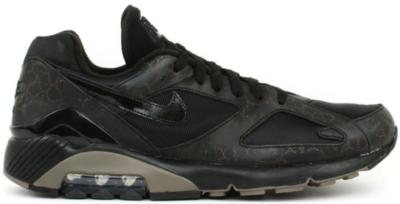 Nike Air Max 180 Powerwall Black Olive Grey Black/Black-Olive Grey 314200-001