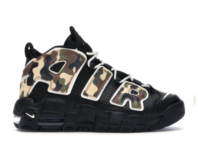 Nike More Uptempo Black CJ0930-001