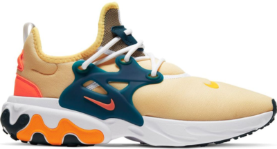 Nike React Presto Seahorse Pale Vanilla/Midnight Turquoise-Laser Orange-Hyper Crimson AV2605-201