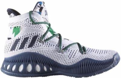 adidas Crazy Explosive Andrew Wiggins Home PE Footwear White/Collegiate Navy/Multi Solid Grey B42405
