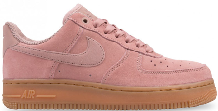 Nike Air Force 1 '07 Lv8 Suede Pink AA1117-600