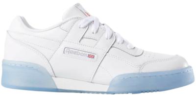 Reebok Workout Plus White Ice (GS) White/Carbon-Blue DV4425