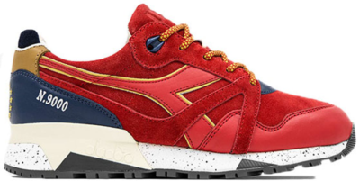 Diadora N9000 UBIQ Made In Italy Red 170372-45044