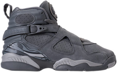 Jordan 8 Retro Cool Grey (GS) Cool Grey/Wolf Grey-Cool Grey 305368-014
