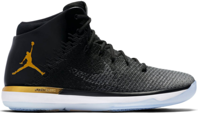 Jordan XXX1 Jordan Brand Classic East Black/Dark Grey-White-Metallic Gold AA2564-070