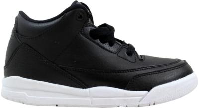 Jordan Air Jordan 3 Retro BP Black (PS) Black/Black White 429487-020