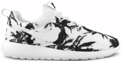 Nike Roshe Run Palm Trees Black White (W) Black/White-White 511882-016