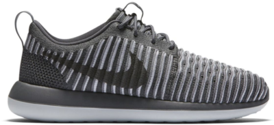 Nike Roshe Two Flyknit Pure Platinum (W) Dark Grey/Pure Platinum-Dark Grey 844929-002