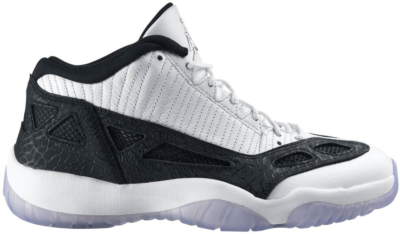 Jordan 11 Retro Low IE White/Black (2011) White/Black-Metallic Silver 306008-100