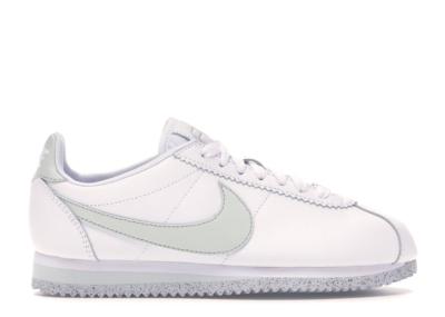 Nike Classic Cortez Flyleather White Light Silver (W) White/Light Silver-White AR4874-100