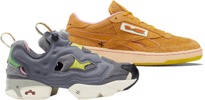 Reebok x Bait The Tom & Jerry Sneaker Kit Gray/Brown TOMJERRY2PACK