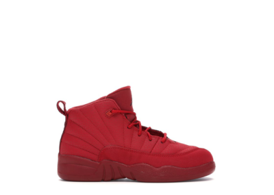 Jordan 12 Retro Gym Red 2018 (PS) Gym Red/Black-Gym Red 151186-601