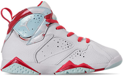 Jordan 7 Retro Topaz Mist (PS) White/White-Topaz Mist-Ember Glow-Gym Red 442961-104