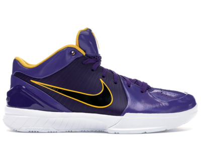 Nike Kobe 4 Protro Undefeated Los Angeles Lakers Purple/University Gold-White CQ3869-500