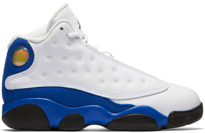 Jordan 13 Retro White Hyper Royal Black (PS) White/Hyper Royal-Black 414575-117