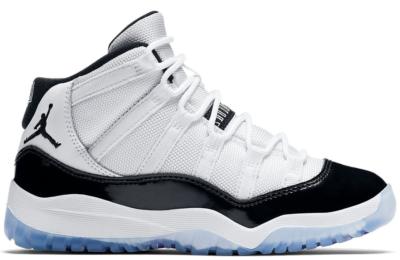 Jordan 11 Retro Concord 2018 (PS) White/Black-Concord 378039-100