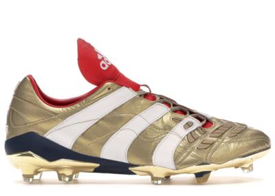 adidas Predator Accelerator FG 25 Year Pack Zidane Gold Metallic/Running White/Scarlet F37076