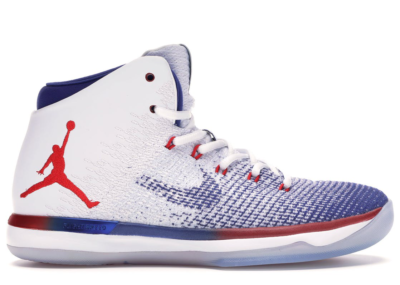 Jordan XXX1 USA White/University Red-Deep Royal Blue 845037-107