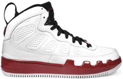 Jordan AJF 9 White Red White/Black-Varsity Red 352753-102